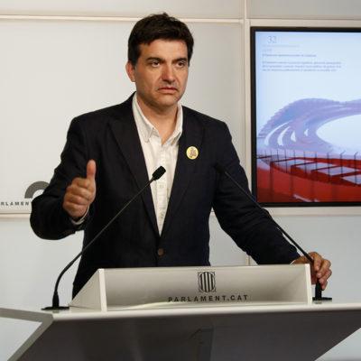 El president d'ERC al Parlament, Sergi Sabrià