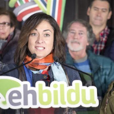 La nova senadora d'ERC-EH Bildu, Idurre Bideguren