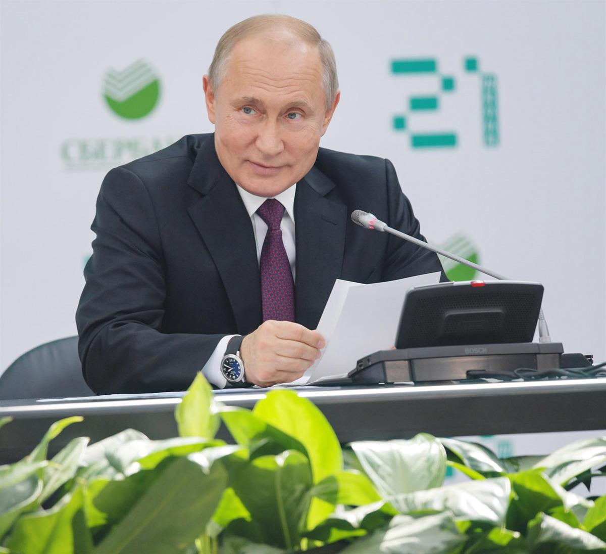 El president rus, Vladimir Putin