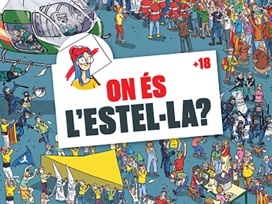 Portada del còmic 'On és l'Estel·la?'