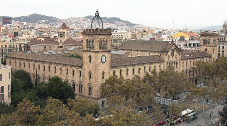 Imatge d'arxiu de la universitat de Barcelona