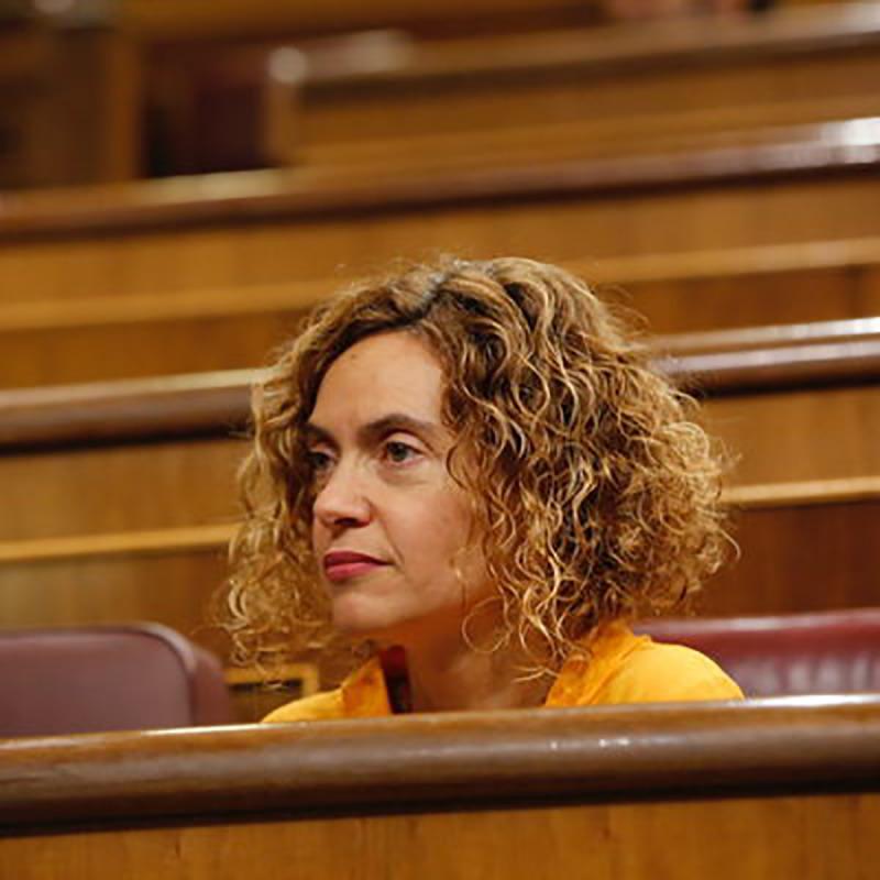 Meritxell Batet, en un ple del Congrés dels Diputats / PSOE