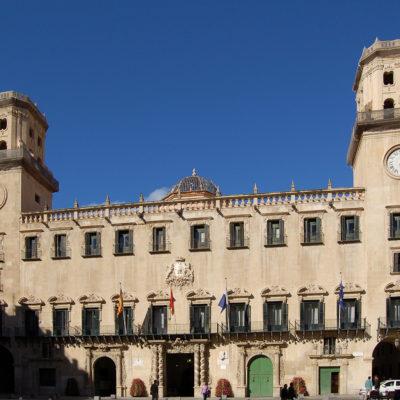 Una imatge de l'Ajuntament d'Alacant