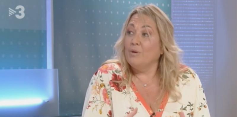 La periodista de 'La Vanguardia', Mayka Navarro, a TV3