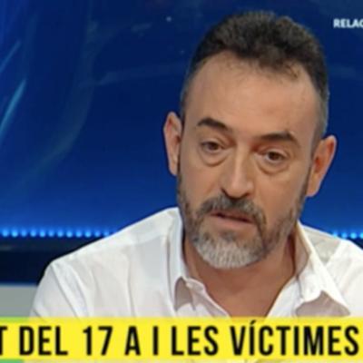El pare del nen de tres anys assassinat a l'atemptat de Barcelona, Javier Martínez, a Tv3