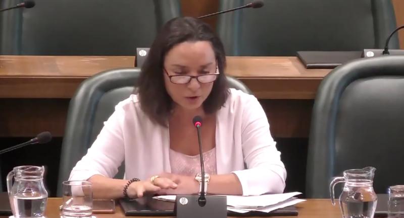 La regidora de Vox a Saragossa Carmen Rouco