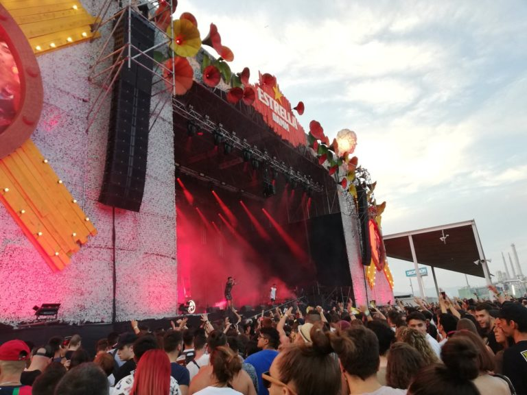 Ayax i Prok al festival Cruïlla/ Twitter @jmangues