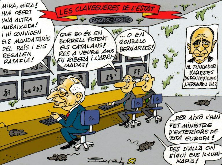 #0137 Les clavegueres de l'Estat i la mala persona de Borrell