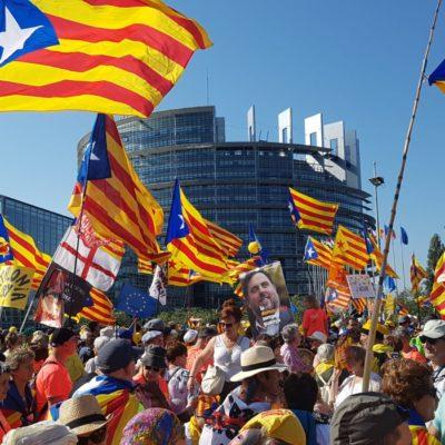 Imatge d'una manifestació independentista | Gerard Sesé