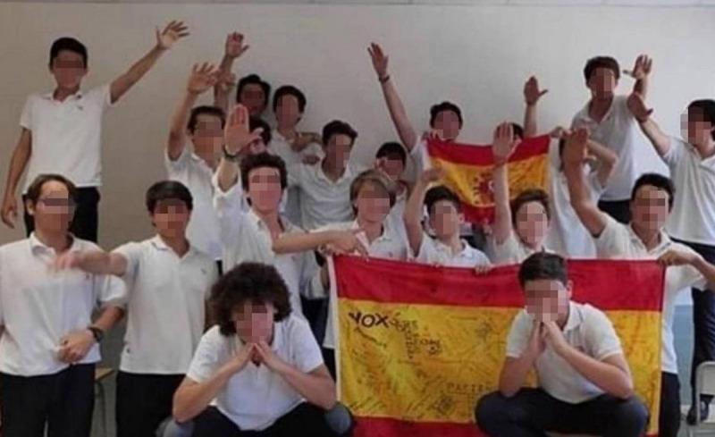 La fotografia dels alumnes que es va fer viral