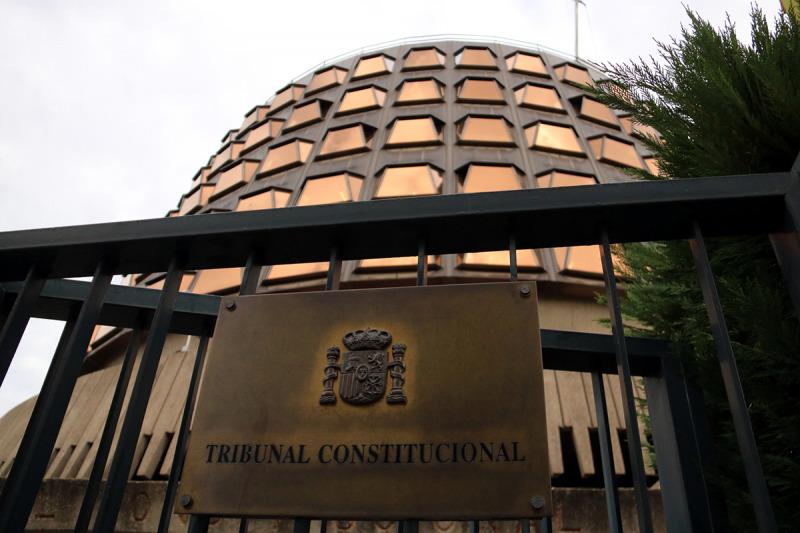 Imatge de la façana del Tribunal Constitucional