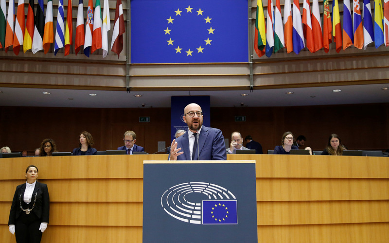 Charles Michel, al Parlament Europeu