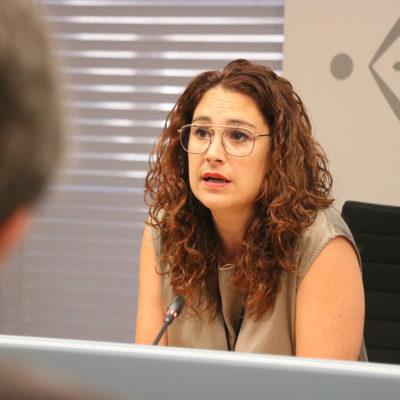 La tinenta d'alcaldia de Drets Socials i Feminisme, Laura Pérez
