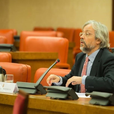 Andrés Betancor, en una imatge d'arxiu
