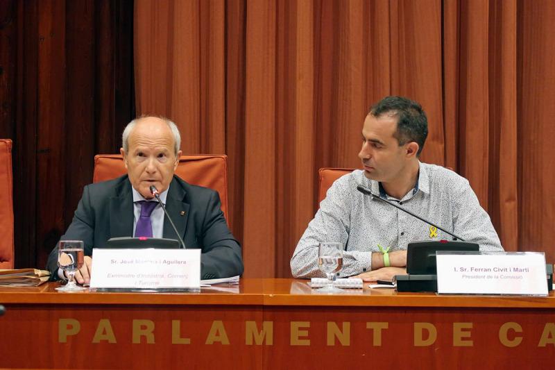 Montilla parla al Parlament sobre el Castor