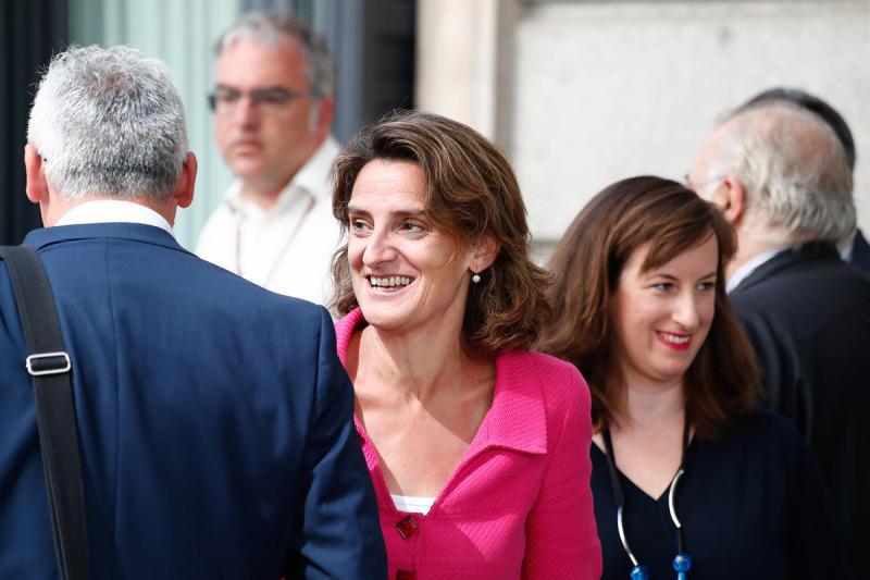 La ministra per a la Transició Ecològica en funcions, Teresa Ribera