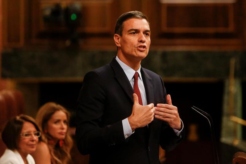 Pedro Sánchez, al Congreso