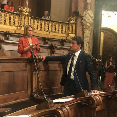 Eva Parera i Manel Valls