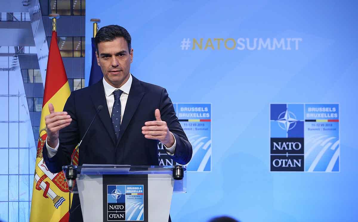 Pedro Sánchez, president del Gobierno en funcions/ Moncloa