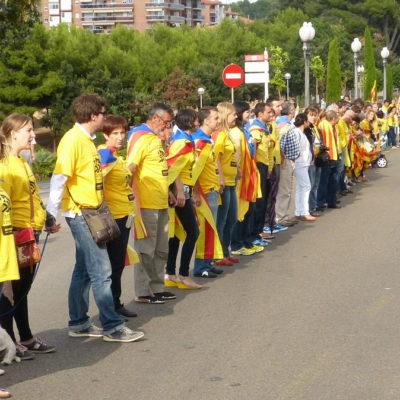 Imatge de la Via Catalana
