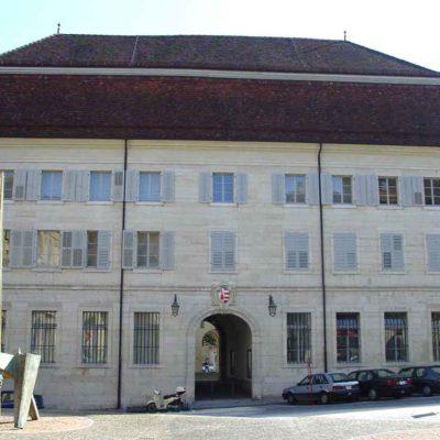 Imatge de la seu oficial del cantó de Jura, a Suïssa / Wikimedia Commons