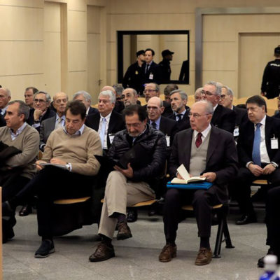 Imatge de l'obertura del judici sobre les targetes 'black'/ EP