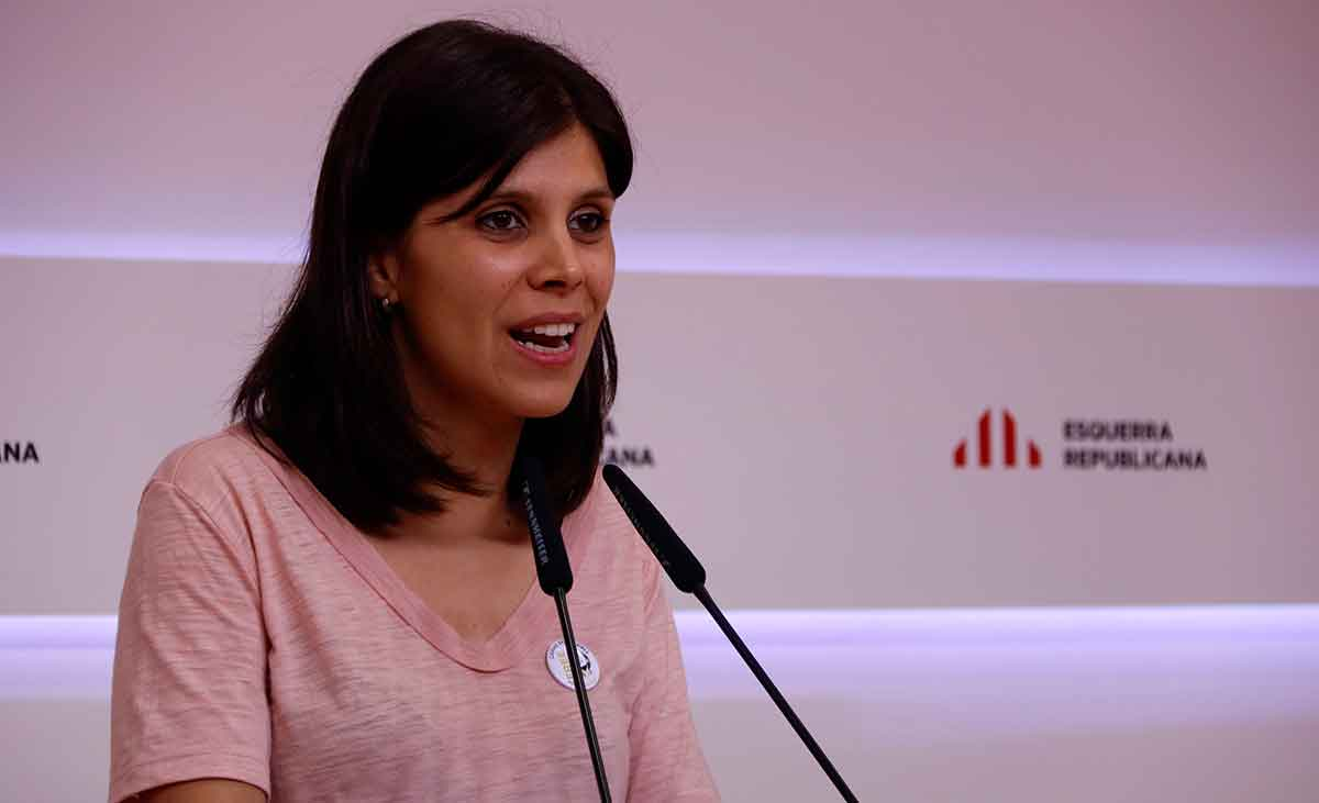 Marta Vilalta, portaveu d'ERC / ACN