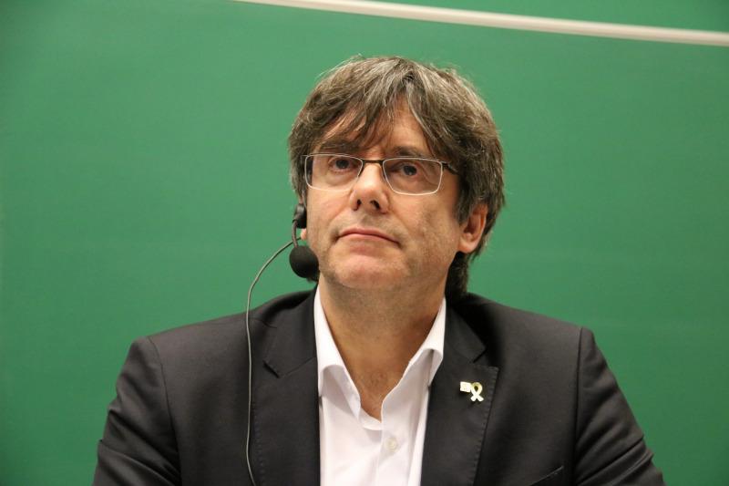Carles Puigdemont, president legítim de Catalunya / ACN