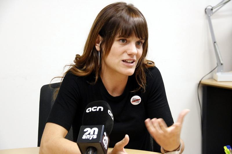 La delegada del Govern a la Catalunya Central, Alba Camps