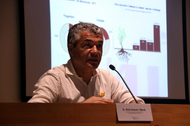 El secretari d'Igualtat, Migracions i Ciutadania, Oriol Amorós