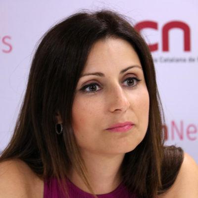 La portaveu de Cs al Parlament, Lorena Roldán