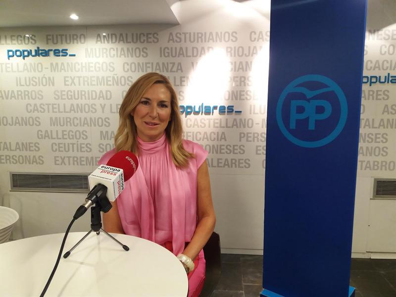 La nova sotssecretària d'Organització del PP, Ana Beltrán