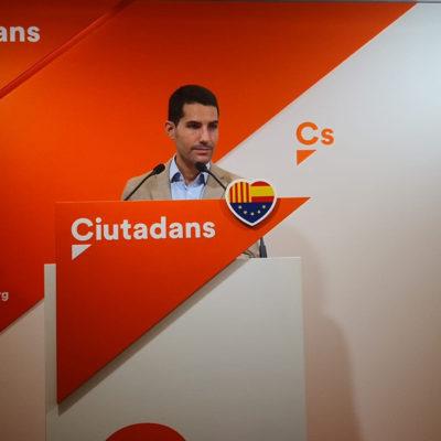 El diputat de Cs, Nacho Martín Blanco
