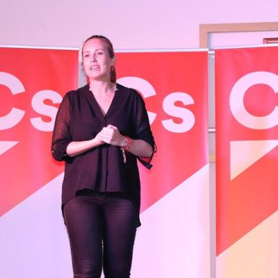 Melisa Rodríguez (Cs), en una imatge d'arxiu