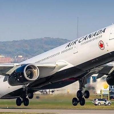 Un avió d'Air Canadà