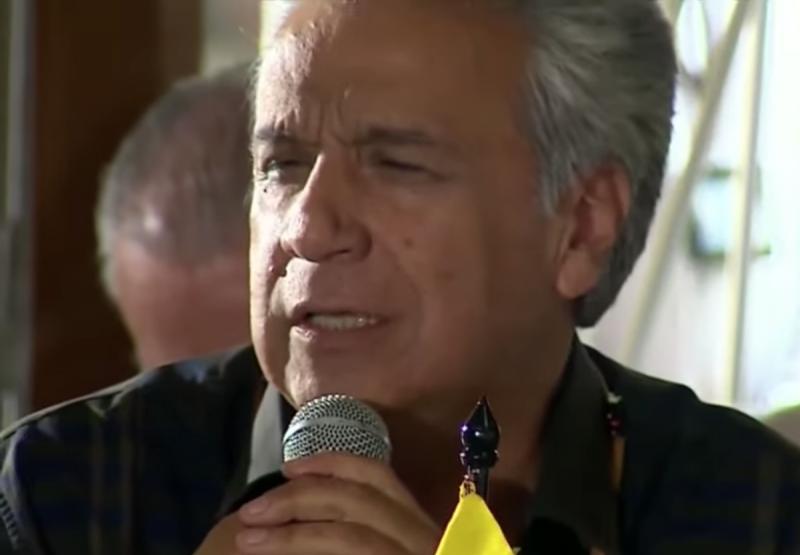 El president de l'Equador, Lenín Moreno