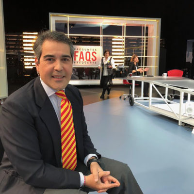 Israel García-Juez, al FAQS/ Twitter @IsraelGJS