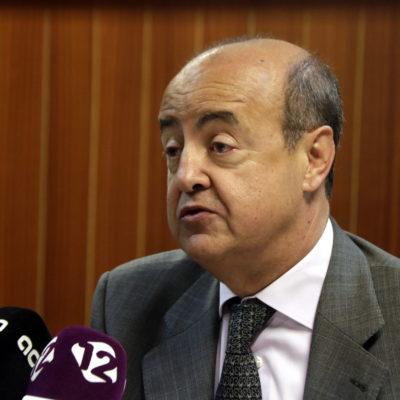 El president del TSJC, Jesús María Barrientos