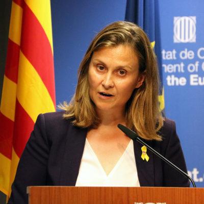 La delegada de la Generalitat davant la UE, Meritxell Serret