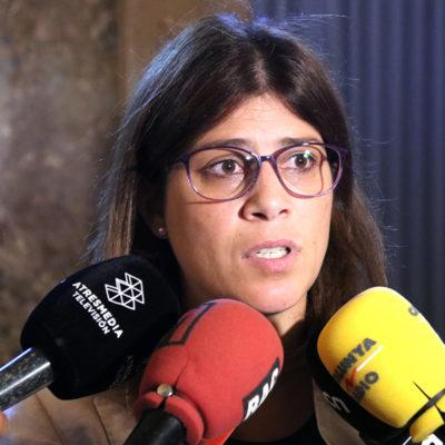 La portaveu adjunta de JxCat, Gemma Geis