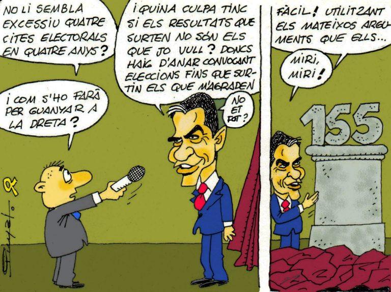 #0146 La solució de Pedro Sánchez: Ni diàleg, ni amnistia, només el 155