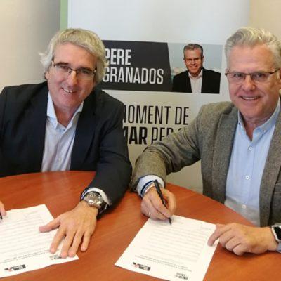 """Marc Montagut, candidat del PDeCAT a Salou, s'adhereix a la candidatura """"Sumem per Salou"""" de Pere Granados"""