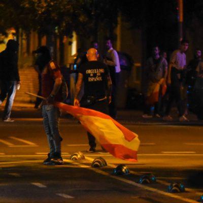 Ultres a Barcelona, el 17 d'octubre