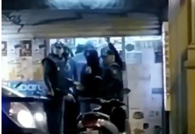 Una captura de pantalla del vídeo