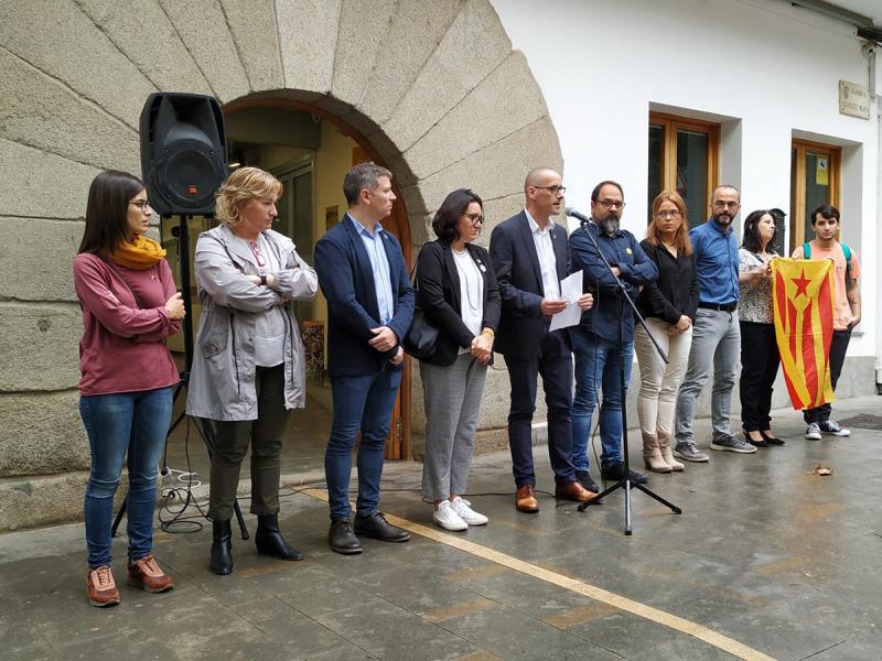 Arenys de Munt es constitueix com a Consell Local de la República/ Twitter @juntsxademunt