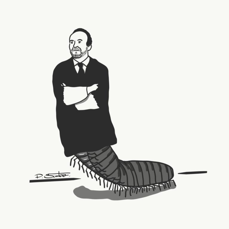 El Ninot: Scolopendra iustitia
