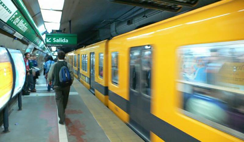 Imatge del metro a Buenos Aires