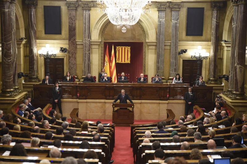 Imatge d'arxiu del Parlament