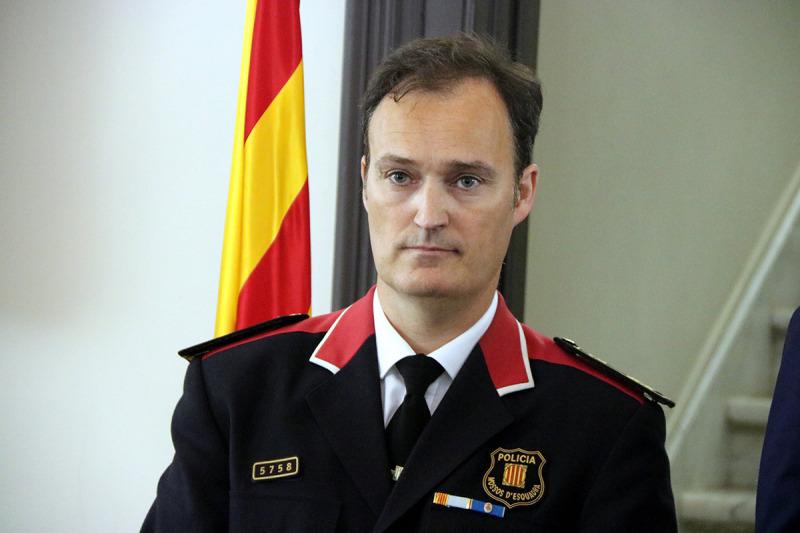 Eduard Sallent, cap dels Mossos d'Esquadra
