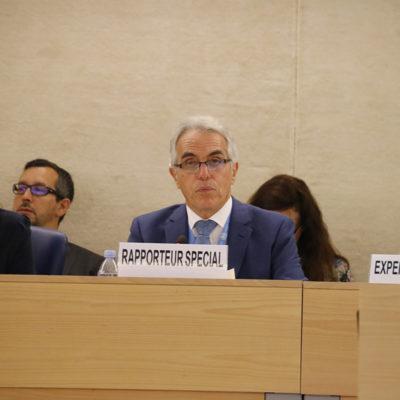 El relator especial de l'ONU sobre la independència dels magistrats i advocats, Diego García-Sayán